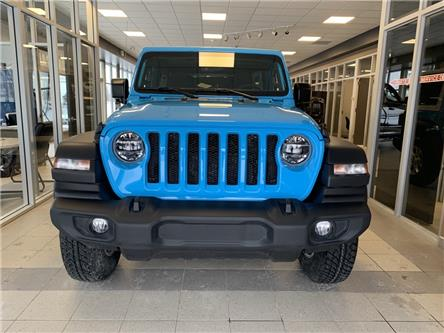 2021 Jeep Wrangler Unlimited Sport (Stk: 6855) in Sudbury - Image 1 of 11
