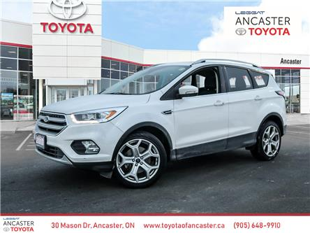 2017 Ford Escape Titanium (Stk: P214A) in Ancaster - Image 1 of 26