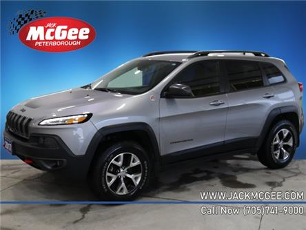 2017 Jeep Cherokee Trailhawk (Stk: 21199B) in Peterborough - Image 1 of 21