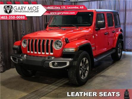2018 Jeep Wrangler Unlimited Sahara (Stk: F202571A) in Lacombe - Image 1 of 22