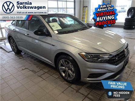 2021 Volkswagen Jetta Highline (Stk: V2160) in Sarnia - Image 1 of 22