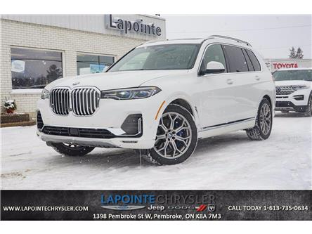 2019 BMW X7 xDrive50i (Stk: P3606) in Pembroke - Image 1 of 30