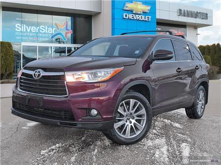 2016 Toyota Highlander XLE (Stk: 21158A) in Vernon - Image 1 of 26