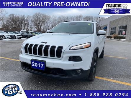 2017 Jeep Cherokee Limited (Stk: P-4473A) in LaSalle - Image 1 of 25