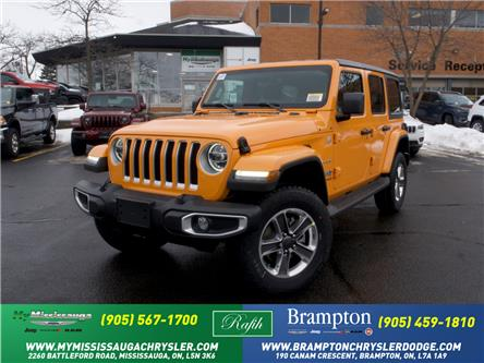 2021 Jeep Wrangler Unlimited Sahara (Stk: 21265) in Mississauga - Image 1 of 6