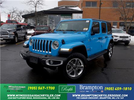 2021 Jeep Wrangler Unlimited Sahara (Stk: 21231) in Mississauga - Image 1 of 6