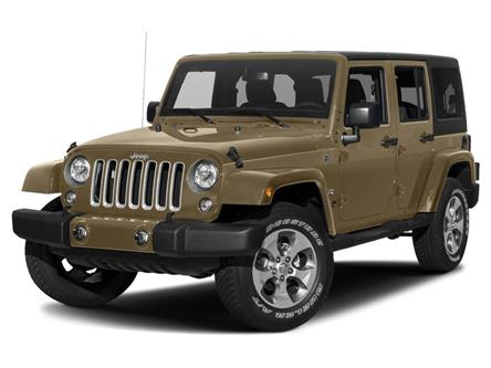 2017 Jeep Wrangler Unlimited Sahara (Stk: M613180A) in Surrey - Image 1 of 9