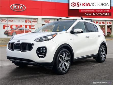 2017 Kia Sportage SX Turbo (Stk: TE21-211A) in Victoria - Image 1 of 24