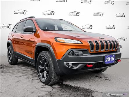 2015 Jeep Cherokee Trailhawk (Stk: 0065AX) in St. Thomas - Image 1 of 30