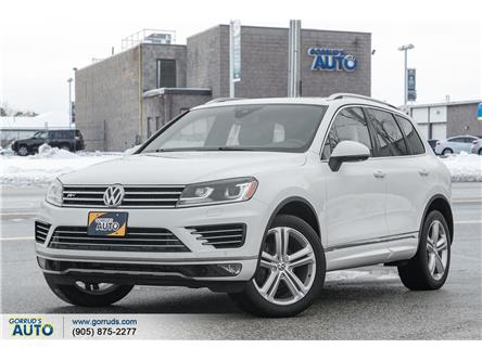 2016 Volkswagen Touareg 3.6L Execline (Stk: 012266) in Milton - Image 1 of 23