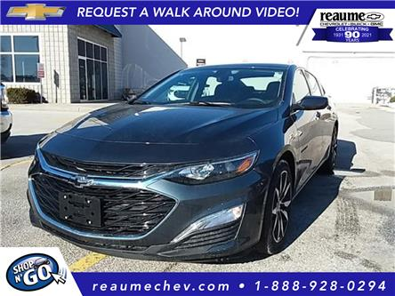 2021 Chevrolet Malibu RS (Stk: 21-0331) in LaSalle - Image 1 of 6
