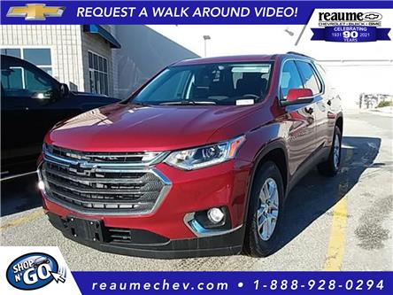 2021 Chevrolet Traverse LT Cloth (Stk: 21-0164) in LaSalle - Image 1 of 6
