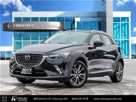 2017 Mazda CX-3 GT (Stk: U0513A) in Cobourg - Image 1 of 29