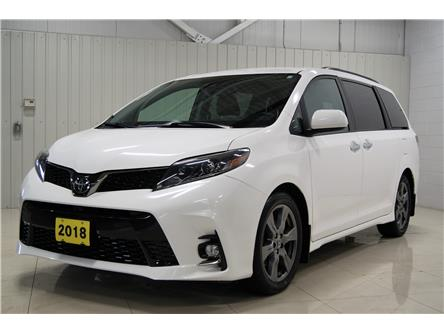 2018 Toyota Sienna SE 8-Passenger (Stk: P6251) in Sault Ste. Marie - Image 1 of 17