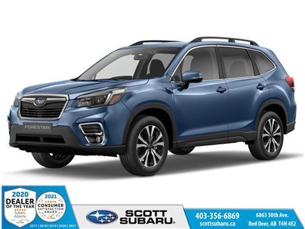 2021 Subaru Forester Limited (Stk: 491773) in Red Deer - Image 1 of 10