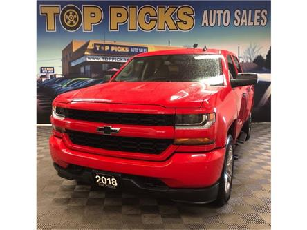 2018 Chevrolet Silverado 1500 Silverado Custom (Stk: 347635) in NORTH BAY - Image 1 of 22