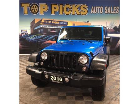 2016 Jeep Wrangler Unlimited  (Stk: 284085) in NORTH BAY - Image 1 of 24