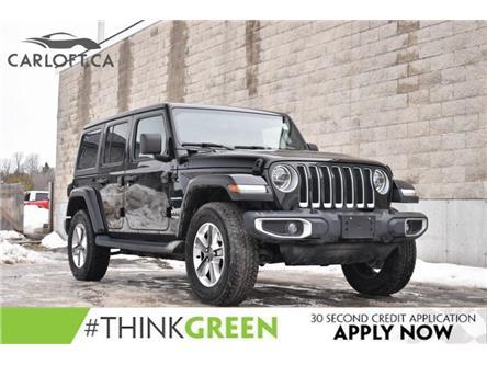 2020 Jeep Wrangler Unlimited Sahara (Stk: JWM076A) in Kingston - Image 1 of 30