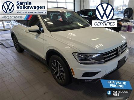 2018 Volkswagen Tiguan Comfortline (Stk: VU1106) in Sarnia - Image 1 of 22