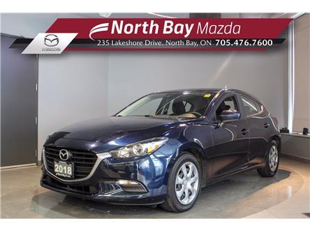 2018 Mazda Mazda3 Sport GX (Stk: 2081A) in North Bay - Image 1 of 20
