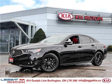 2018 Acura TLX Elite A-Spec (Stk: 2565) in Burlington - Image 1 of 29