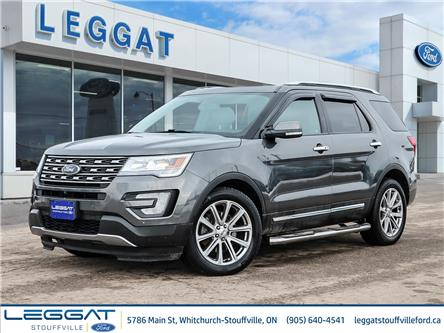 2017 Ford Explorer Limited (Stk: F114150A) in Stouffville - Image 1 of 28