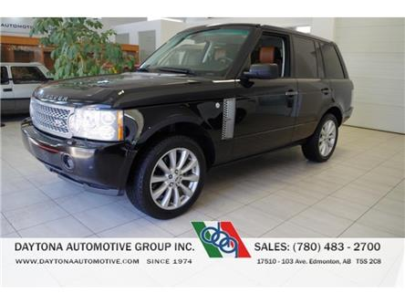 2008 Land Rover Range Rover Supercharged (Stk: 4810) in Edmonton - Image 1 of 16