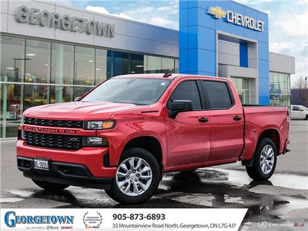 2021 Chevrolet Silverado 1500 Silverado Custom (Stk: 32653) in Georgetown - Image 1 of 27