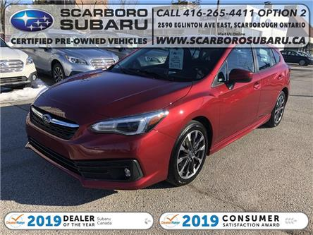 2020 Subaru Impreza  (Stk: L3718697) in Scarborough - Image 1 of 20