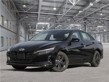 2021 Hyundai Elantra Preferred w/Sun & Tech Pkg (Stk: EA21017) in Woodstock - Image 1 of 21