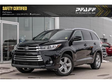 2018 Toyota Highlander Limited (Stk: SU0305) in Guelph - Image 1 of 22