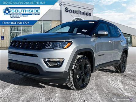 2021 Jeep Compass Altitude (Stk: JC2105) in Red Deer - Image 1 of 25