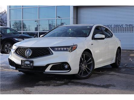 2018 Acura TLX Tech A-Spec (Stk: P1718) in Ottawa - Image 1 of 27