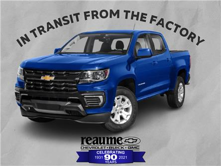 2021 Chevrolet Colorado WT (Stk: 21-0422) in LaSalle - Image 1 of 10