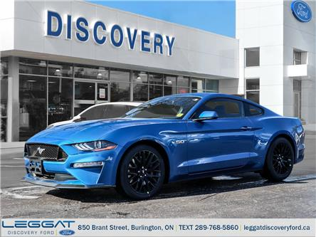 2021 Ford Mustang GT (Stk: MU21-00262) in Burlington - Image 1 of 17
