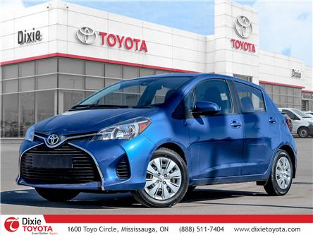 2017 Toyota Yaris LE (Stk: 72477) in Mississauga - Image 1 of 25
