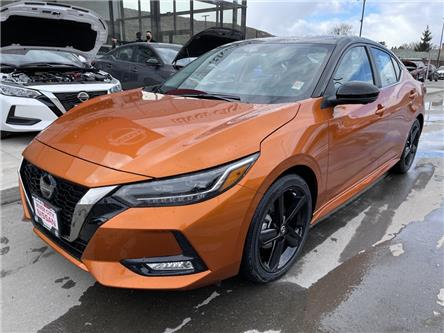 2021 Nissan Sentra SR (Stk: C21021) in Kamloops - Image 1 of 27
