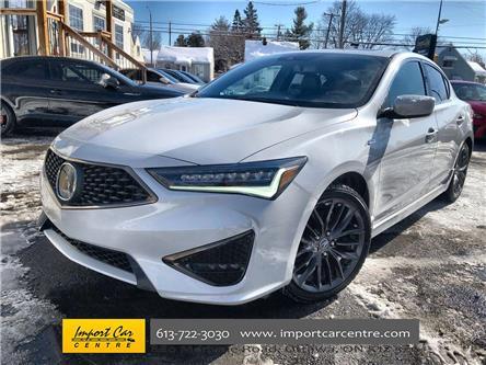 2019 Acura ILX Premium A-Spec (Stk: 800142) in Ottawa - Image 1 of 25
