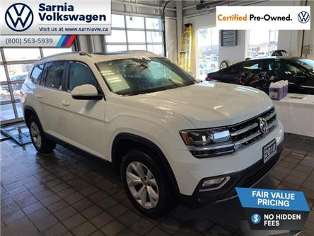 2018 Volkswagen Atlas 3.6 FSI Highline (Stk: VU1100) in Sarnia - Image 1 of 22