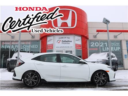 2017 Honda Civic Sport (Stk: 22971A) in Sudbury - Image 1 of 36