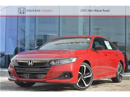 2021 Honda Accord SE 1.5T (Stk: 210226) in Orléans - Image 1 of 26