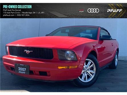 2007 Ford Mustang V6 (Stk: C8141A) in Woodbridge - Image 1 of 8