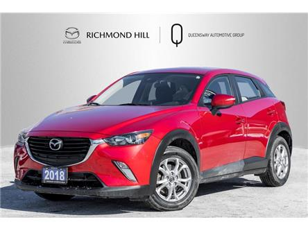 2018 Mazda CX-3 GS (Stk: P0596) in Richmond Hill - Image 1 of 19