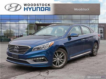 2016 Hyundai Sonata Sport Tech (Stk: SE20041A) in Woodstock - Image 1 of 27
