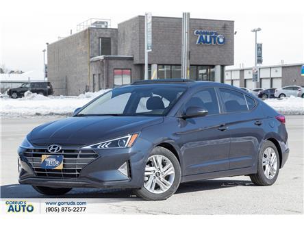 2020 Hyundai Elantra Preferred w/Sun & Safety Package (Stk: 970730) in Milton - Image 1 of 21