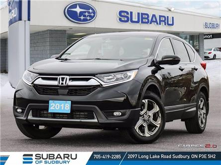 2018 Honda CR-V EX-L (Stk: US1198) in Sudbury - Image 1 of 25