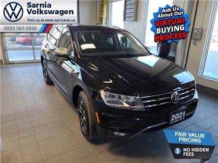 2021 Volkswagen Tiguan United (Stk: V2173) in Sarnia - Image 1 of 21