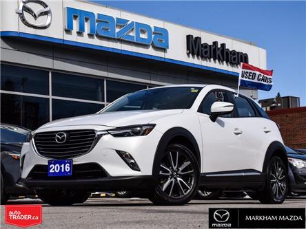 2016 Mazda CX-3 GT (Stk: N210191B) in Markham - Image 1 of 29