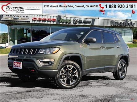 2018 Jeep Compass Trailhawk (Stk: N20147A) in Cornwall - Image 1 of 27