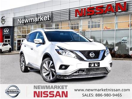 2017 Nissan Murano Platinum (Stk: UN1207) in Newmarket - Image 1 of 27